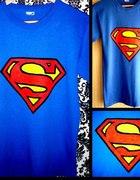 Superman koszulka ręcznie malowana...