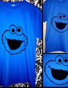 Ciasteczkowy potwór koszulka ręcznie malowana...