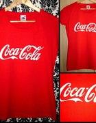 Coca Cola koszulka ręcznie malowana...