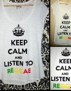 Keep calm and listen to reggae...