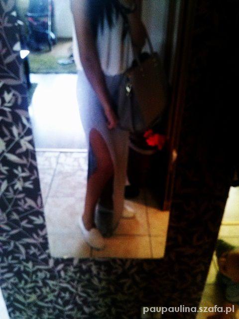 Spódnice spodnica maxi