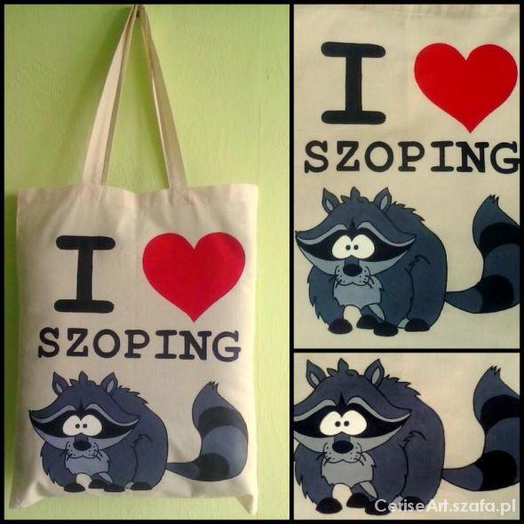Torba I love szoping
