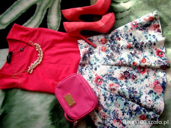 Mój styl Różowo i kwiatowo