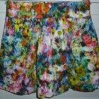 ZARA FLORAL spódniczka mini rozmiar S