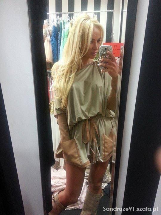 Fryzury Nietypowa sukienka