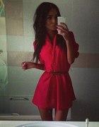 Na czerwono