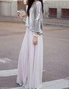 spódnica lub sukienka maxi