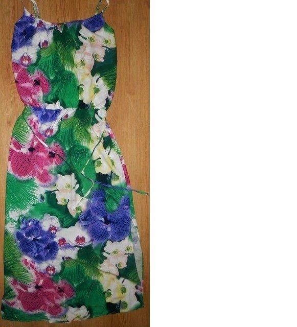 sukienka TU Clothing kwiaty maxi...