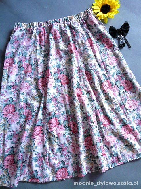 Spódnice Spódnica kwiatowa 40 42