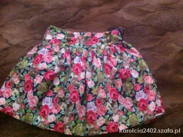 Spódnice Spódniczka w kwiaty Dunnes