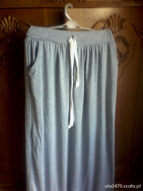 Spódnice spodnica maxi szara cudenko