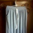 spodnica maxi szara cudenko