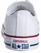 białe converse low...