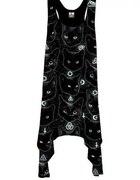 Sukienka Kill Star czarne koty black cats...