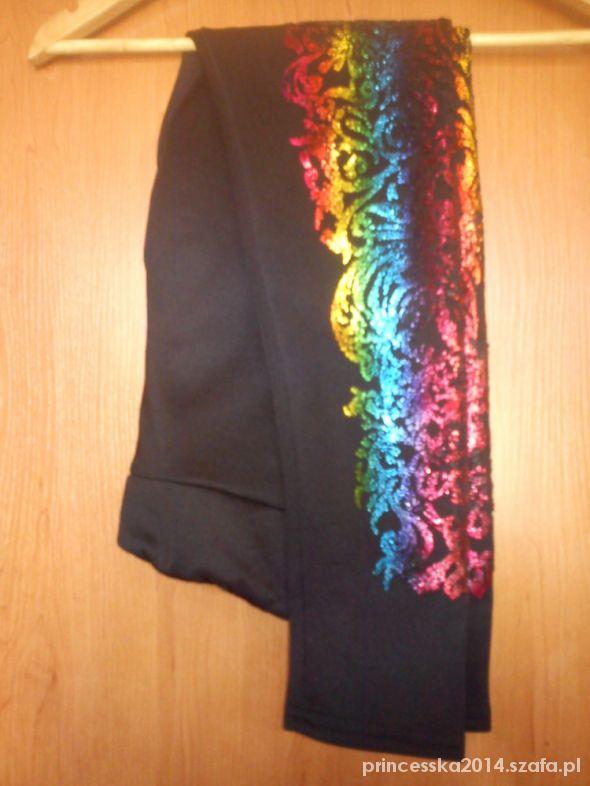 Oryginalne spodnie z ombre