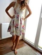 Sukienka H&M Kwiaty