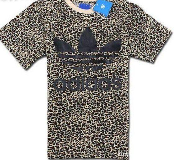 tshirt Adidas panterka jak Chodakowska rozmiary w Bluzki
