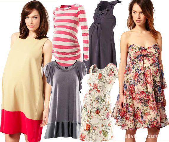 Sukienki ciążowe na lato