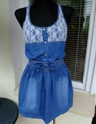 sukienka jeansowa SM