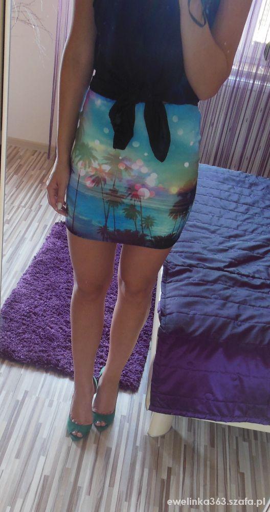 Eleganckie spódnica tropical