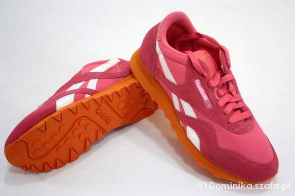 Obuwie Buty Reebok Cl Nylon Slim Różowe V57506