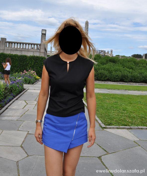 Eleganckie niebieska spodenko spódnica Mohito