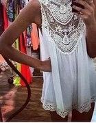 sukienka KORONKA lato nowa