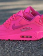 NIKE AIR MAX 90 PINK hyper neon fluo...