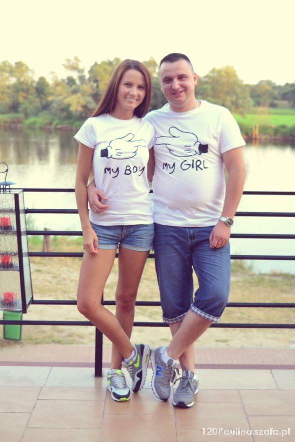 Blogerek koszulki dla pary