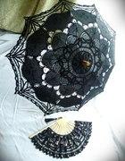 Gotycki ażurowy parasol przeciwsłoneczny