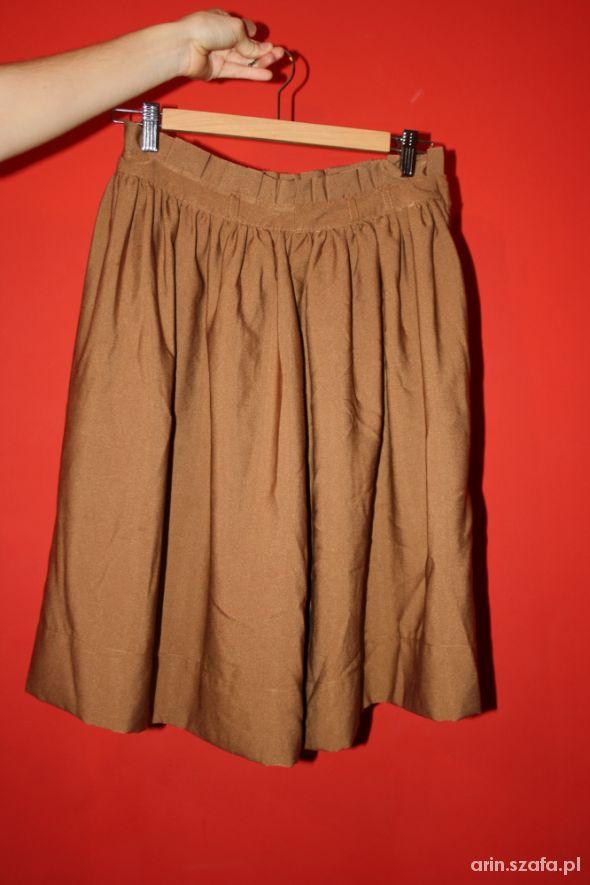 Spódnice Brązowa spódnica H&M S