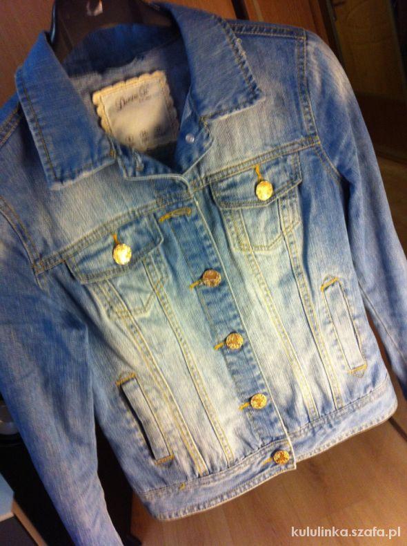 Denim co Kurtka jeans Przetarcia