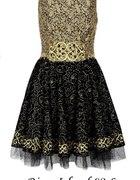 River Island sukienka barok 2013...