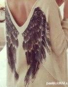 sweterek skrzydła...