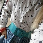 Spódnica jeansowa rozkloszowana S M