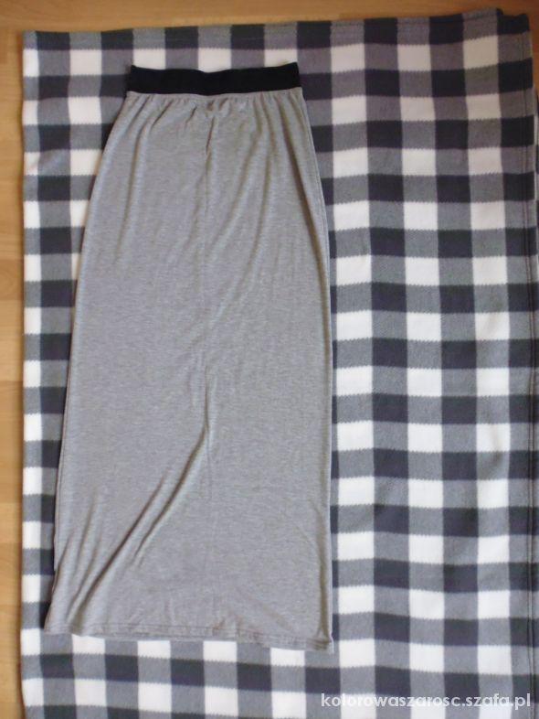 Spódnice Spódnica długa dresowa