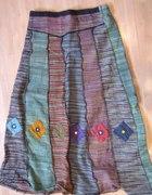 spódnica z marihuany etno kolorowa