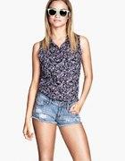 Bluzka floral H&M