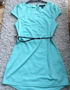 miętowa sukienka AMISU 34