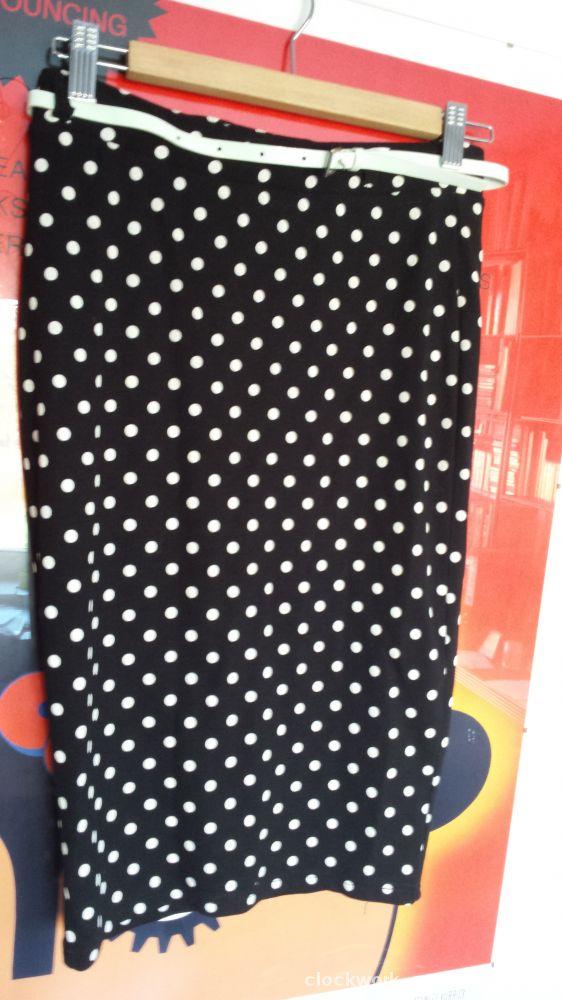 Spódnice kropki ołówkowa pin up retro rockabilly H&M