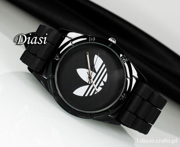 Zegarek Adidas auf silikonowym pasku Unisex nowy w Zegarki