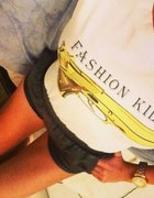 Bluzka Koszulka pistolet broń fashion killer