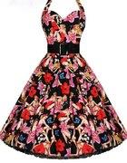 Sukienka lata 50te60te
