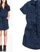 H&M divided jeansowa sukienka r 38 M...