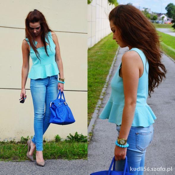 Blogerek COLOR BABY BLUE