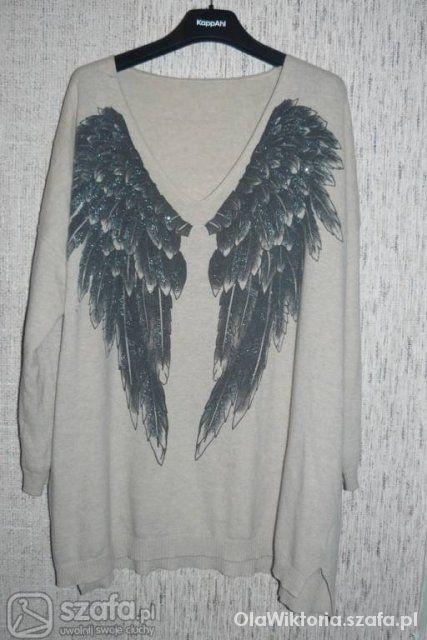 Sweterek kappahl skrzydła szukam poocy...