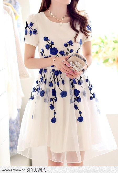 Na specjalne okazje Cudowna tiulowa sukienka