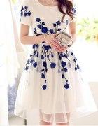 Cudowna tiulowa sukienka
