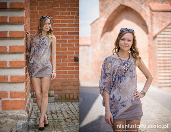 Mój styl Flower dress