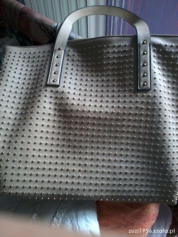 karmelowa torebka...